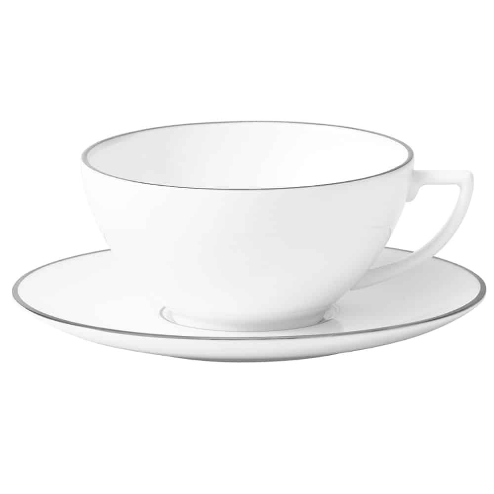 Wedgwood jasper conran platinum tazza tè
