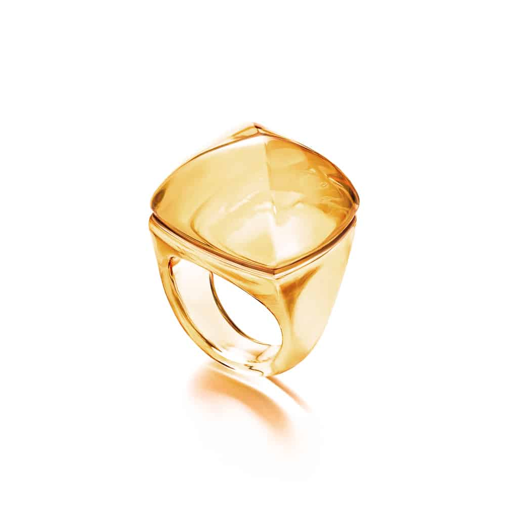 Baccarat ring miele