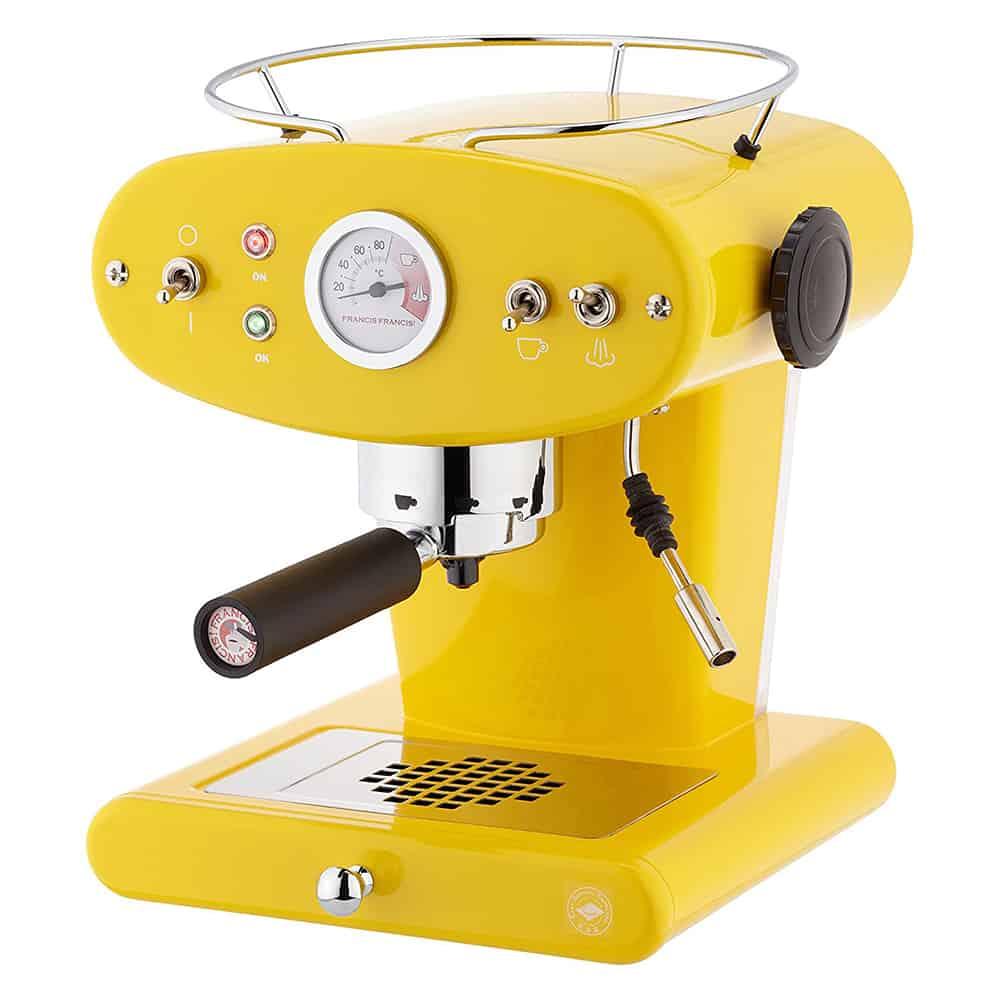 illy macchina da caffè x1 trio giallo