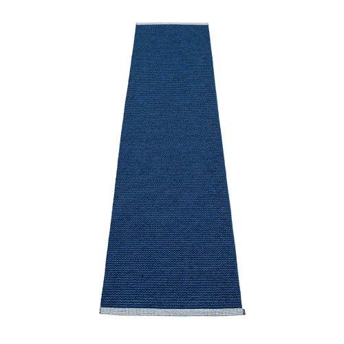 PAPPELINA mono dark blue denim 60x250