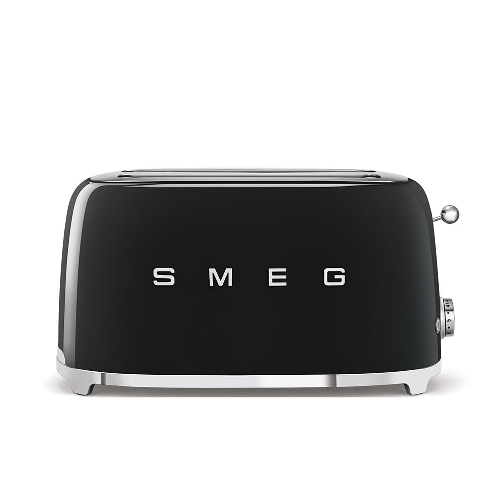 SMEG tostapane 4fette nero TSF02BLEU