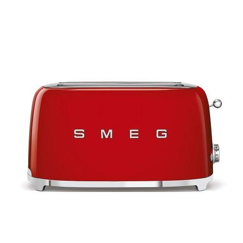 SMEG tostapane 4fette rosso TSF02RDEU