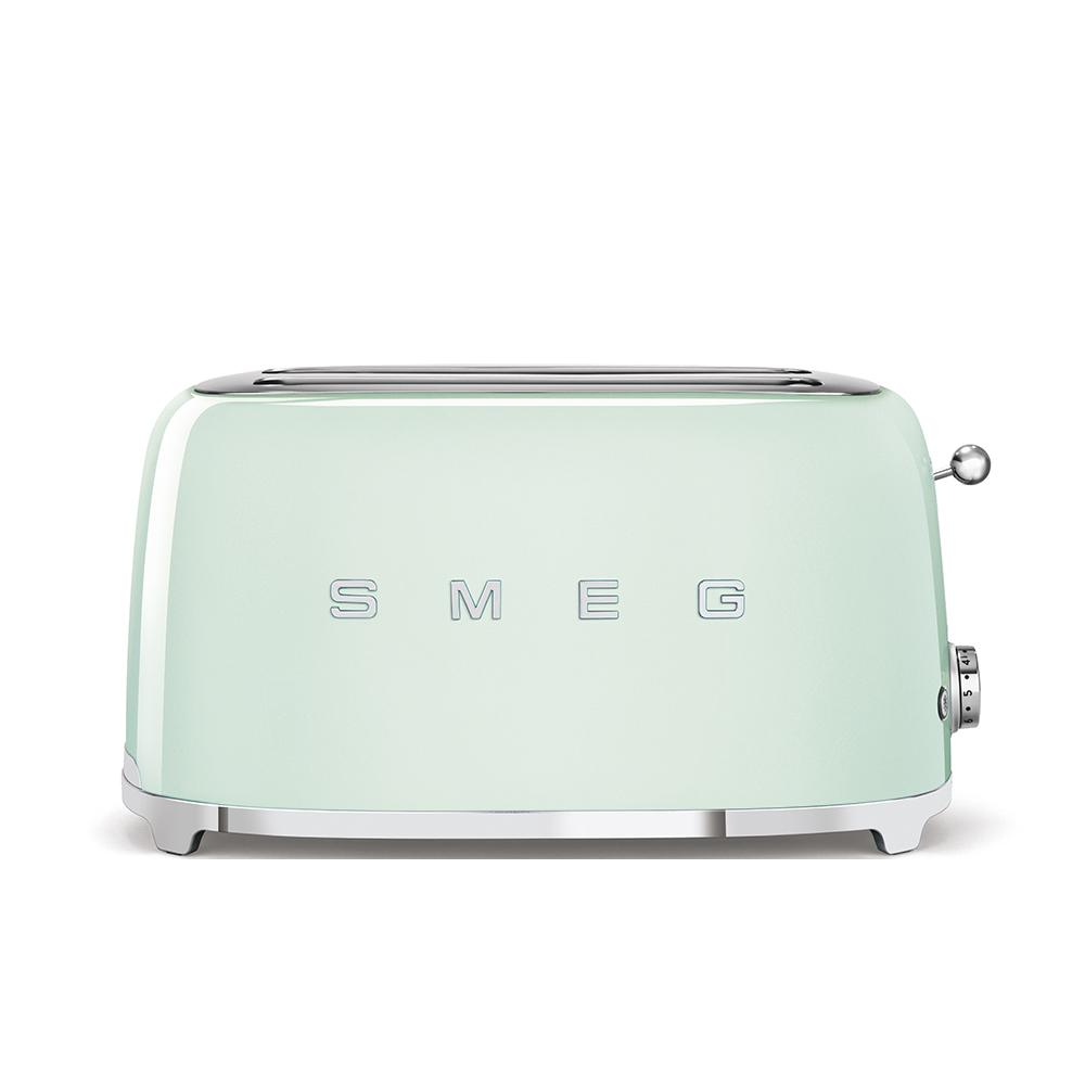 SMEG tostapane 4fette verde TSF02PGEU