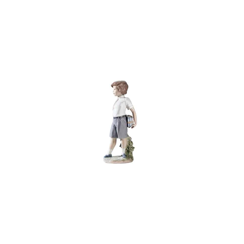Lladro Little School Boy