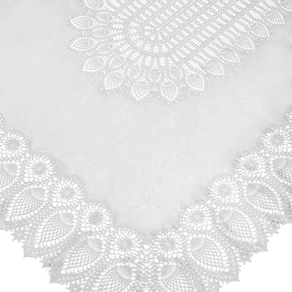 FIORIRA tovaglia pizzo vinile white TSLIMPV2