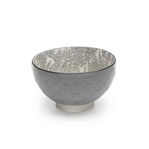 ZAFFERANO TUE bowl tex grigio