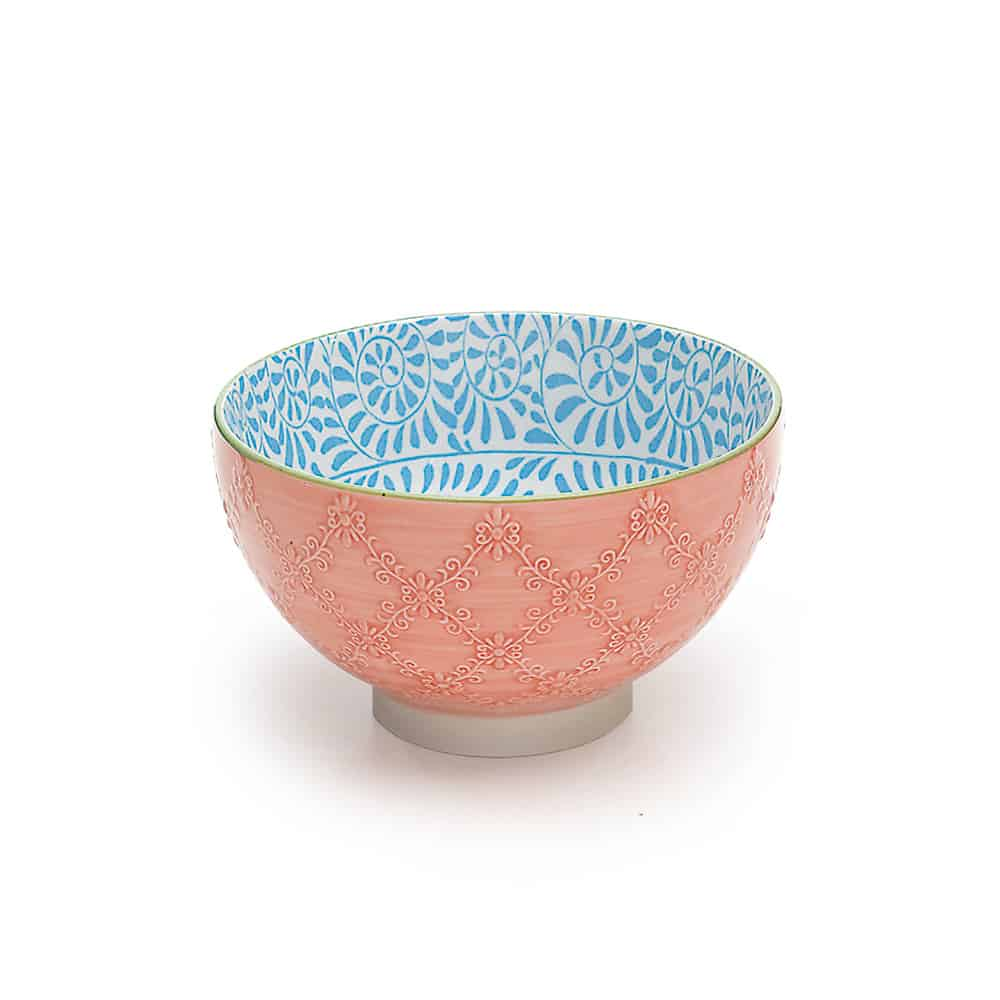 ZAFFERANO TUE bowl tex arancio