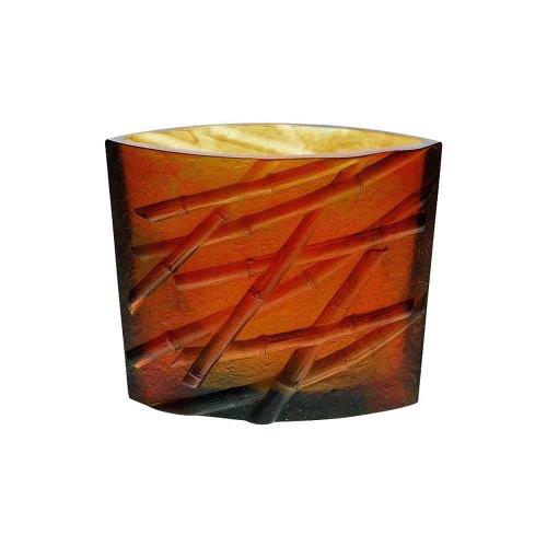 DAUM bamboo vase