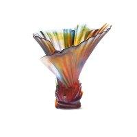 DAUM e.robba palmier vase 03456