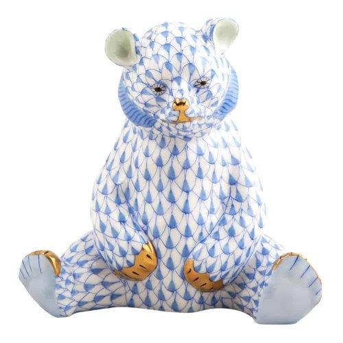 HEREND bear azzurro 15361-0-00-VHB