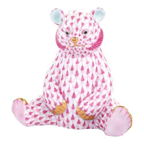 HEREND bear rosa 15361-0-00-VHP