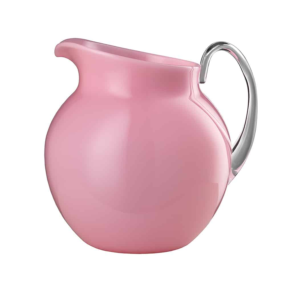 MLGiusti brocca PALLINA rosa opalino