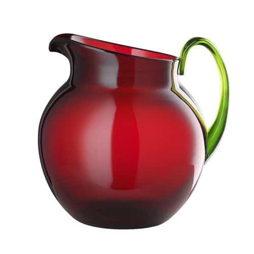 MLGiusti brocca PALLINA rubino/verde