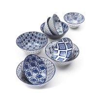 ZAFFERANO RHAPSODY IN BLUE bowls group