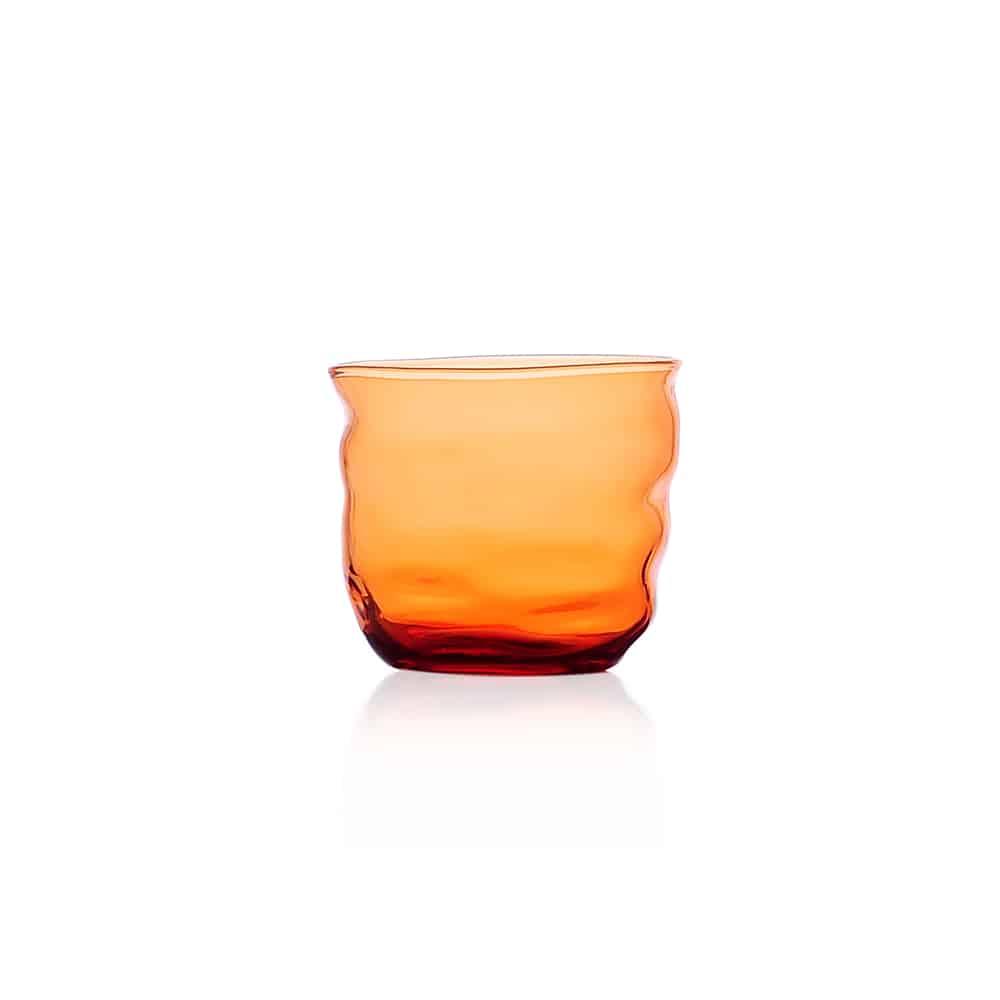 ICHENDORF POSEIDON bicchiere arancio