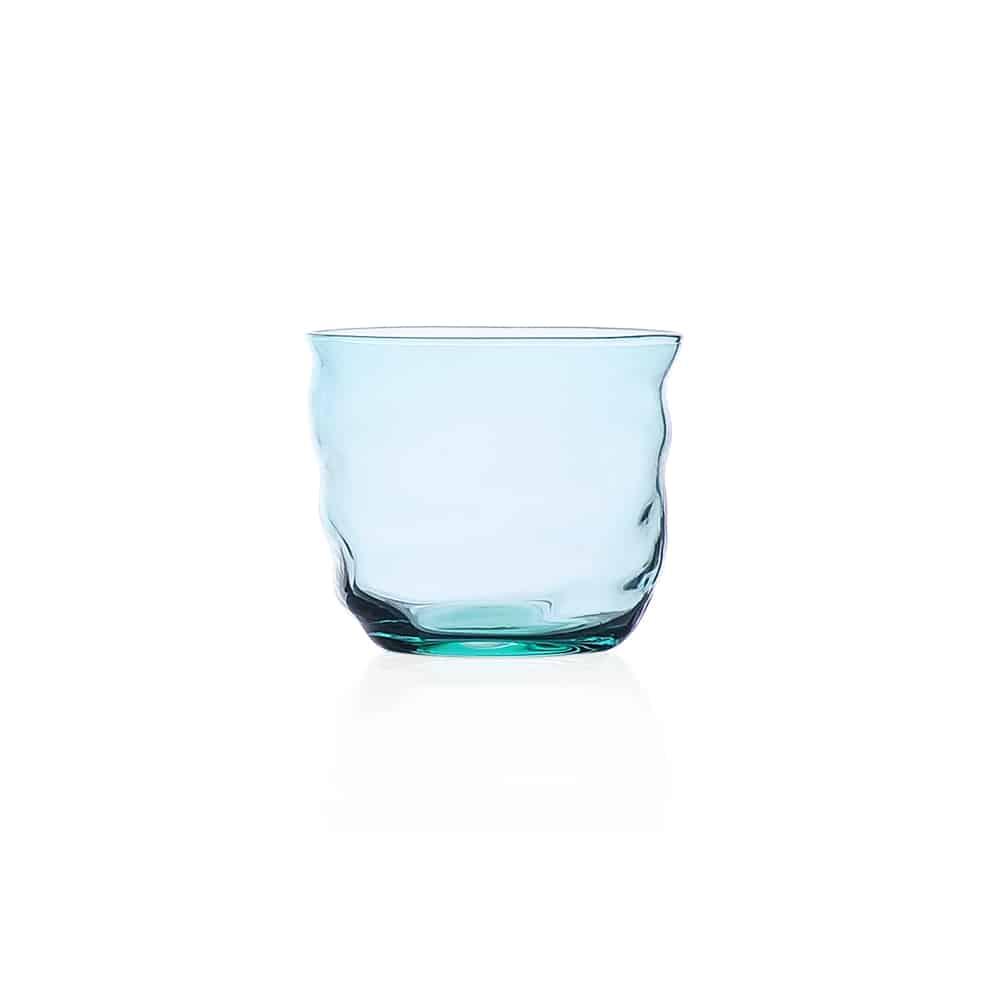 ICHENDORF POSEIDON bicchiere azzurro caraibi