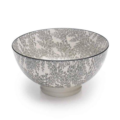 ZAFFERANO TUE medium bowl grey