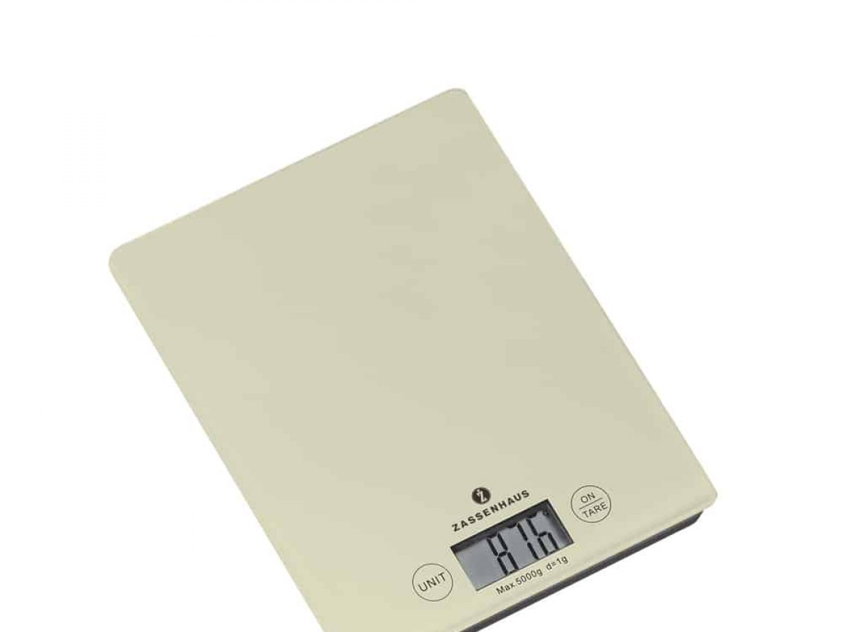 ZASSENHAUS Bilancia da cucina digitale//Bilancia Balance COOL GREY//GRIGIO 073485