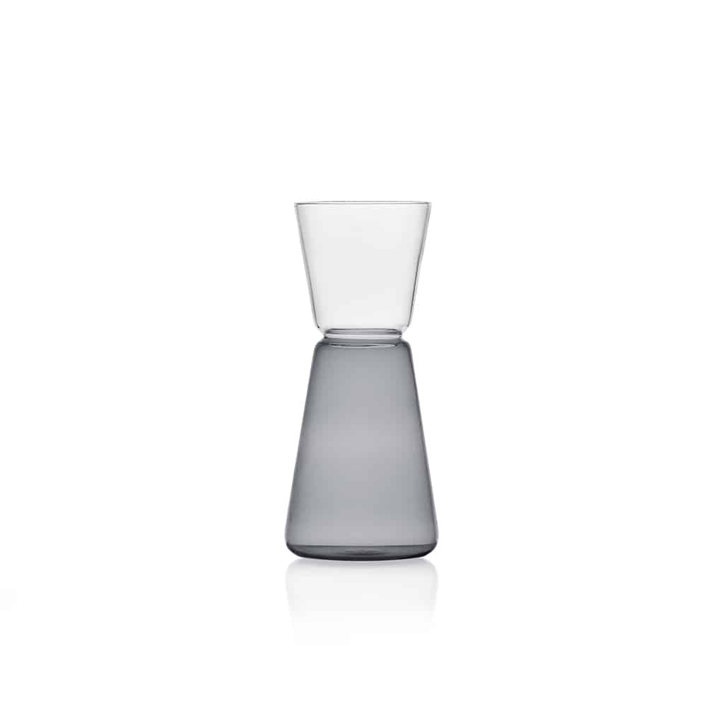 ICHENDORF HI RISE jugs 500 ml smoke/clear