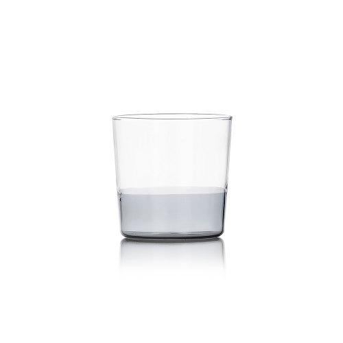 ICHENDORF Light bicchiere acqua smoke/clear