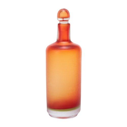 VENINI bottiglia incisa corniola