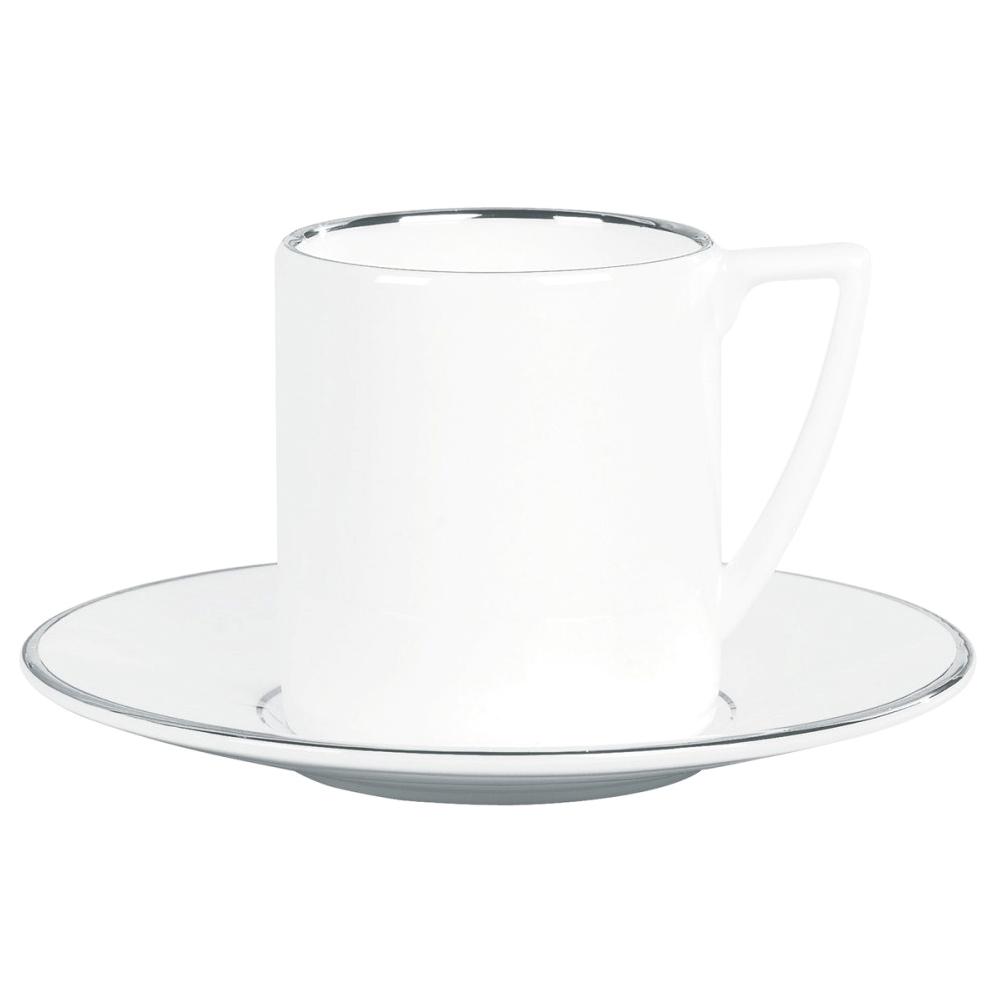 Wedgwood jasper conran platinum tazza caffè