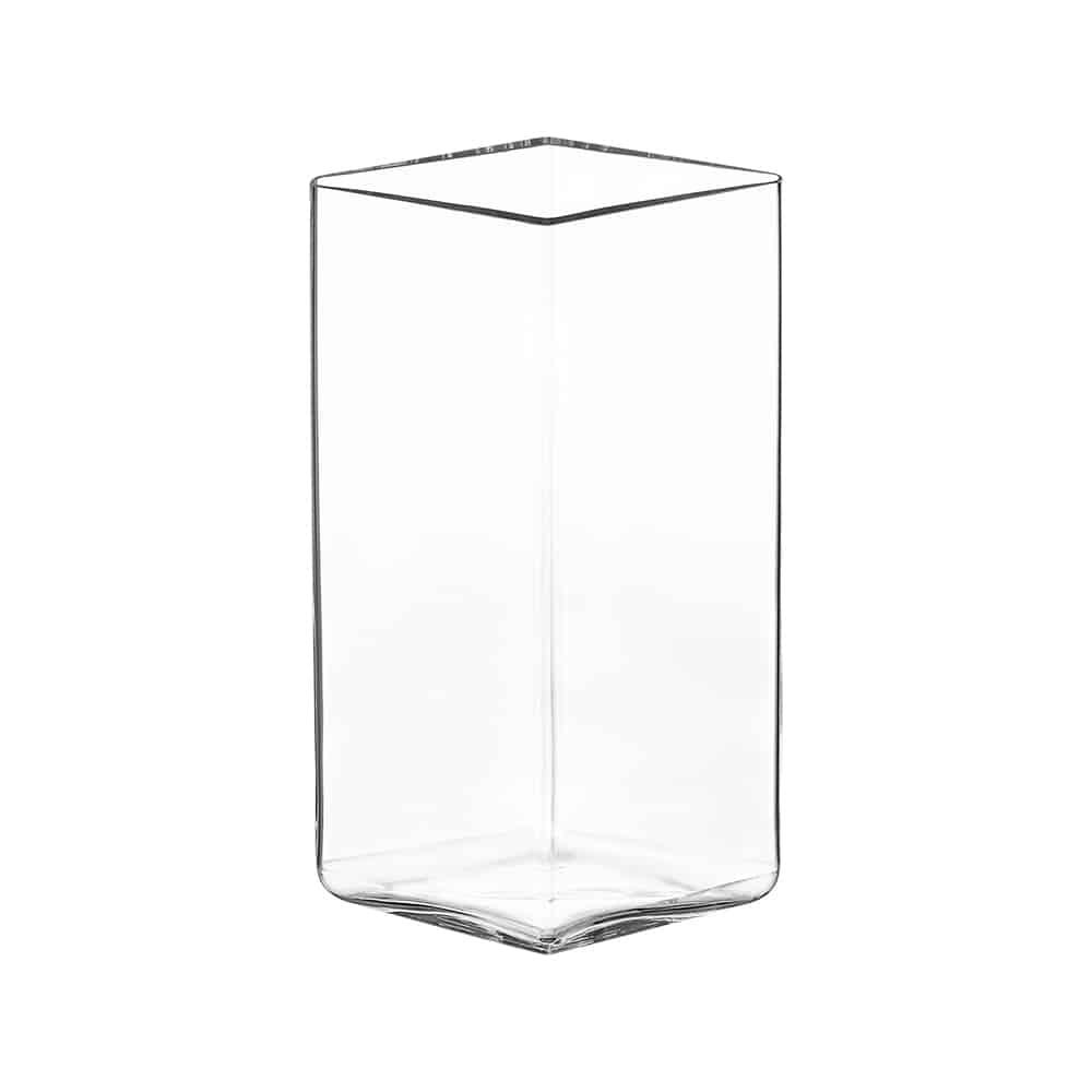 Iittala vaso ruutu clear 18 cm
