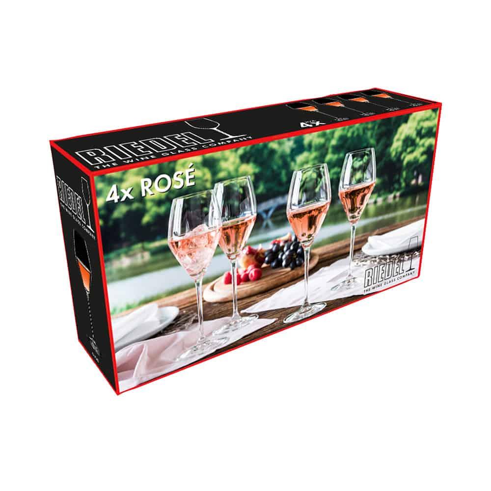 REIDEL set 4 calici rosè 5441/55 box