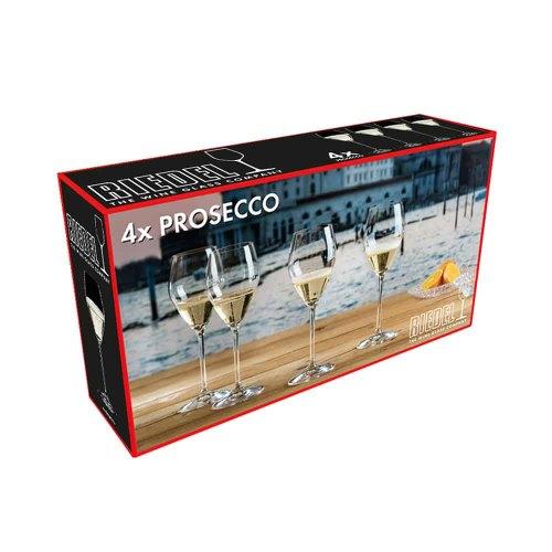 RIEDEL set 4 calici prosecco 5441/85 box