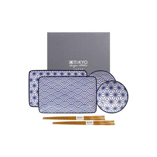 TOKYO DESIGN sushi set nippon blue 15330
