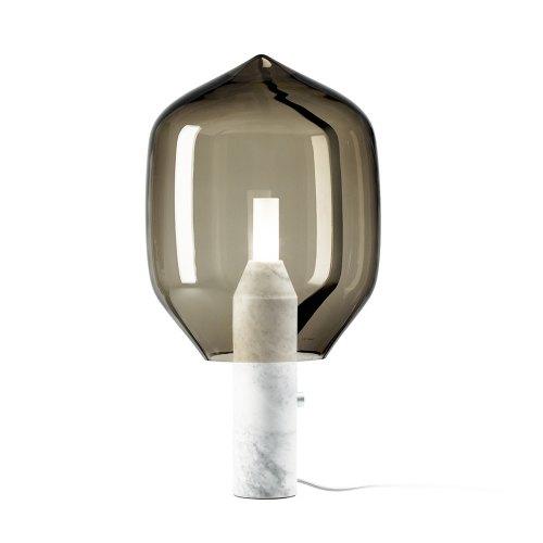 VENINI lampada Lighthouse base marmo bianco