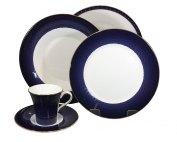 wedwood set piatti caffè Midnight