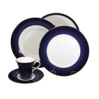 wedgwood set piatti caffè Midnight