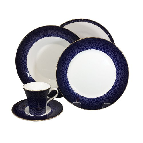 wedwood set piatti caffè Midnight