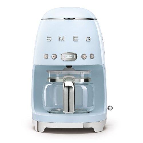 SMEG macchina caffe filtro azzurro DCF02PBEU