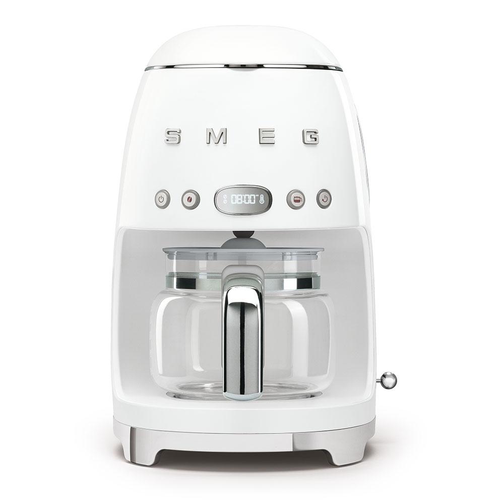 SMEG macchina caffe filtro bianco DCF02WHEU
