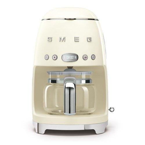 SMEG macchina caffe filtro panna DCF02CREU