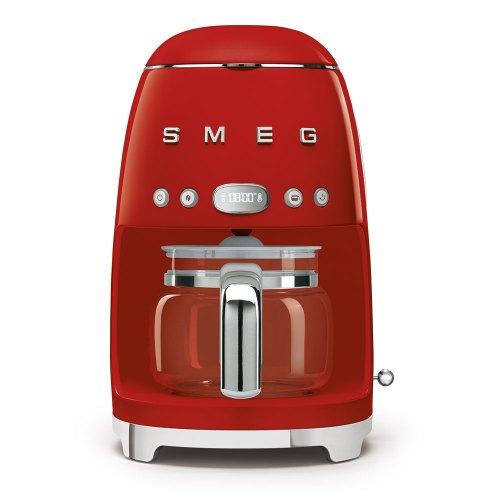 SMEG macchina caffe filtro rosso DCF02RDEU