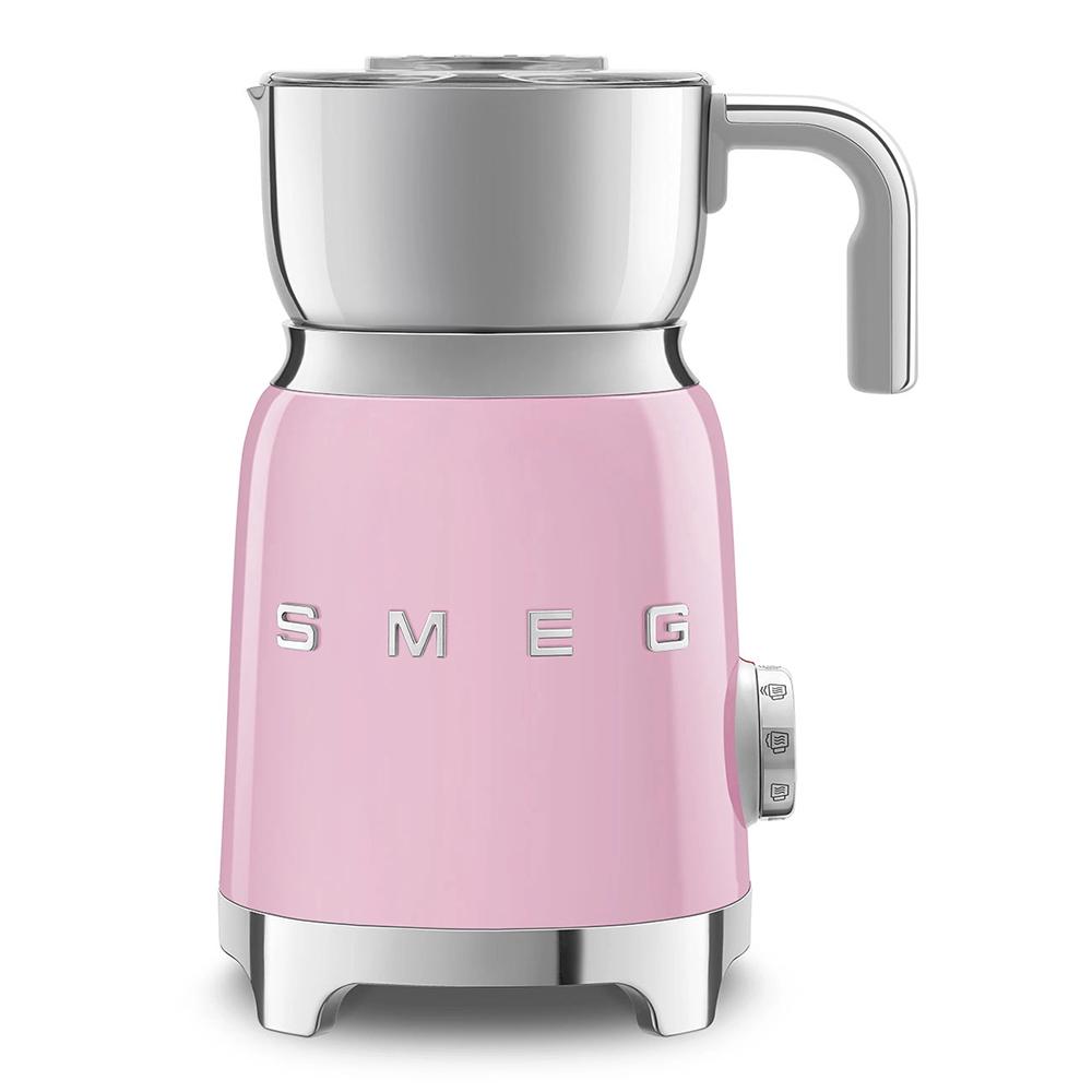 SMEG montalatte rosa MFF01PKEU