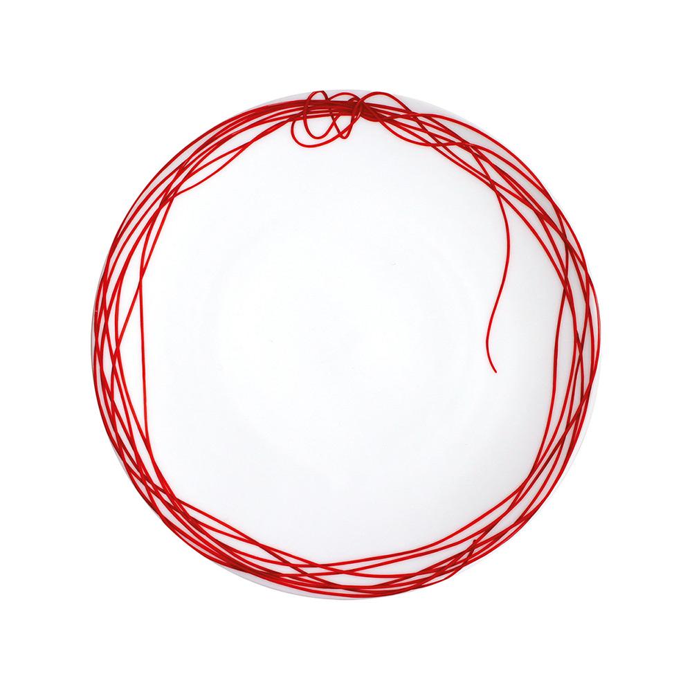 TAITU piatto piano fil rouge nodi 5-40