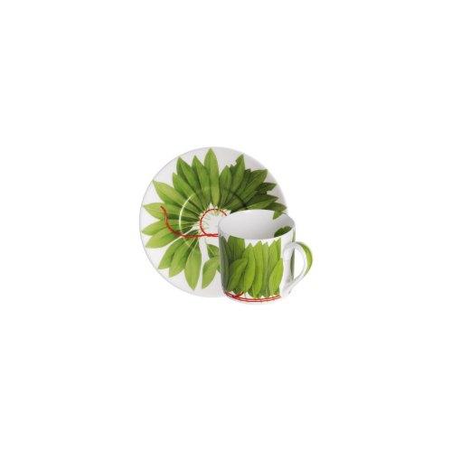 TAITU tazza espresso fil rouge foglie 5-191