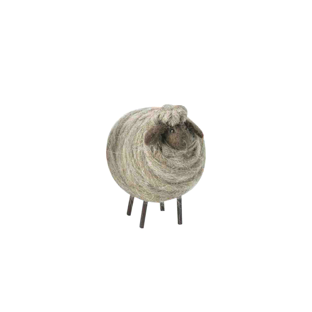 FIORIRA UN GIARDINO pecora lana 12 cm