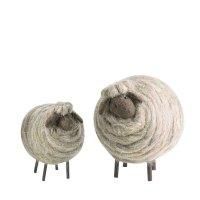 FIORIRA UN GIARDINO coppia pecore lana