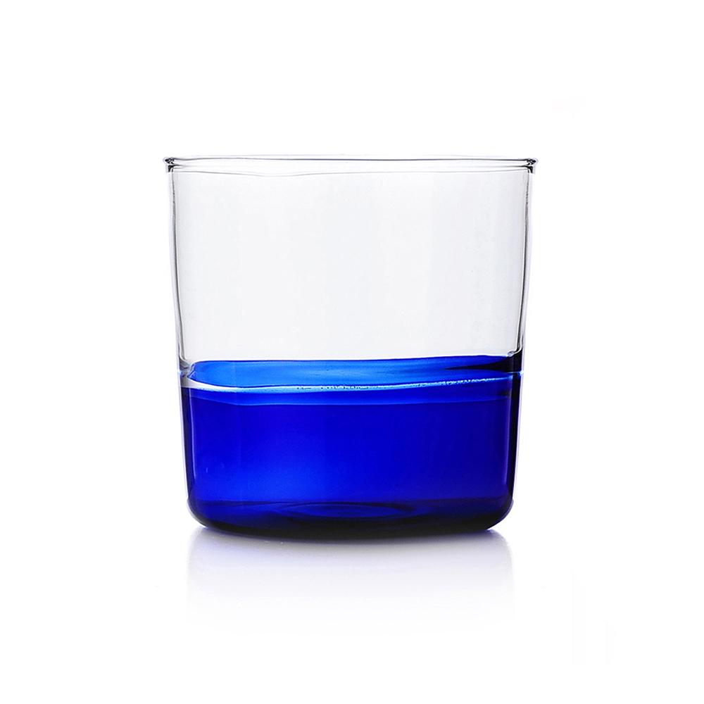 ICHENDORF bicchiere light blue/clear 093598023