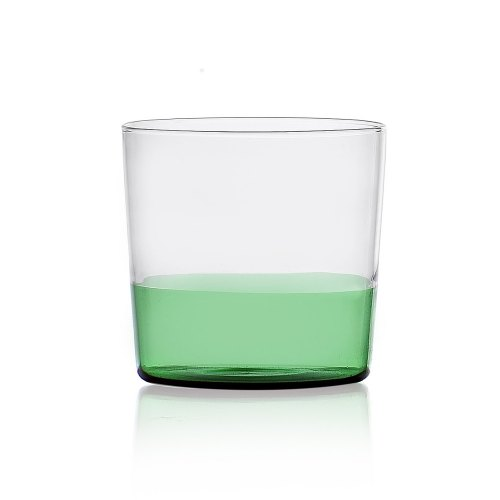 ICHENDORF bicchiere light green/clear 093598019