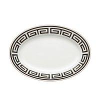 RICHARD GINORI labirinto nero piatto portata ovale