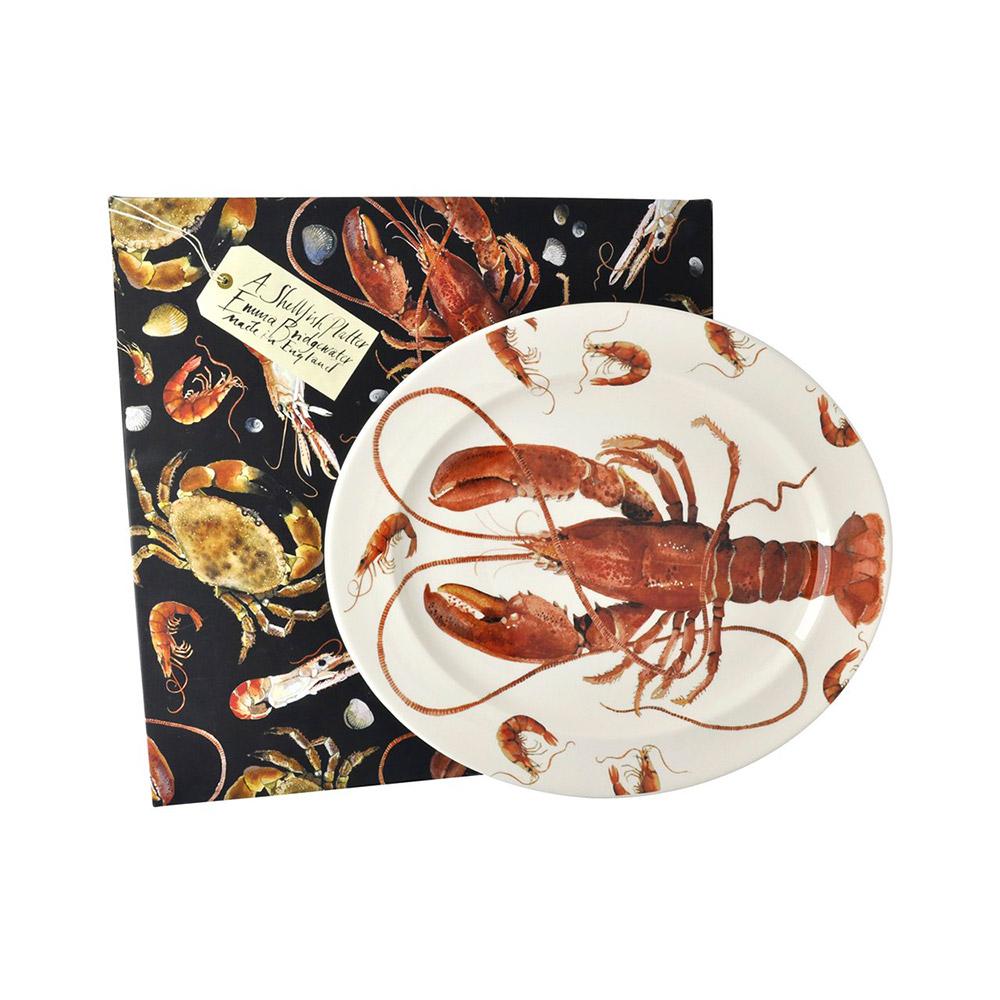 EMMA BRIDGEWATER shellfish plate box