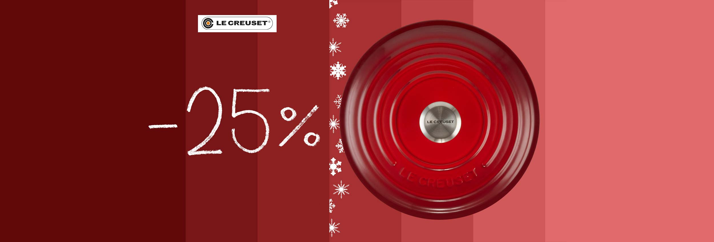 Promo Le Creuset -25%