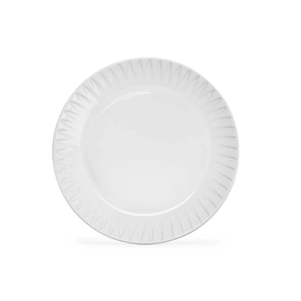SAGAFORM piatto colazione bianco