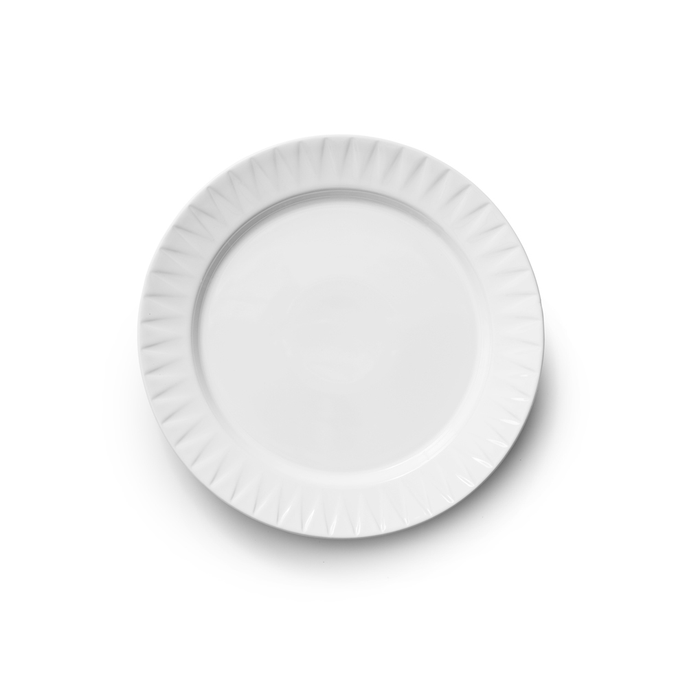 SAGAFORM piatto piano bianco